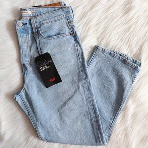 Levi's Light Wash Wedgie Straight Jeans Sz 29